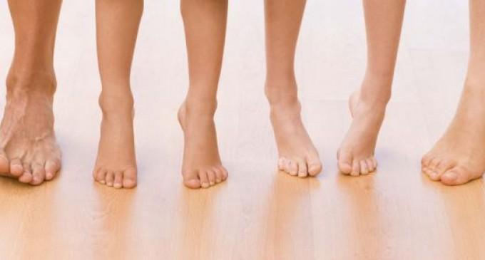 Transpiratia excesiva-Mirosul neplacut al picioarelor
