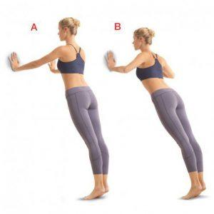 Cele mai bune 7 exercitii pentru femeile care poarta tocuri - Exercitiul 2