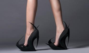 Milano 2015 - moda pantofilor printaţi 3D